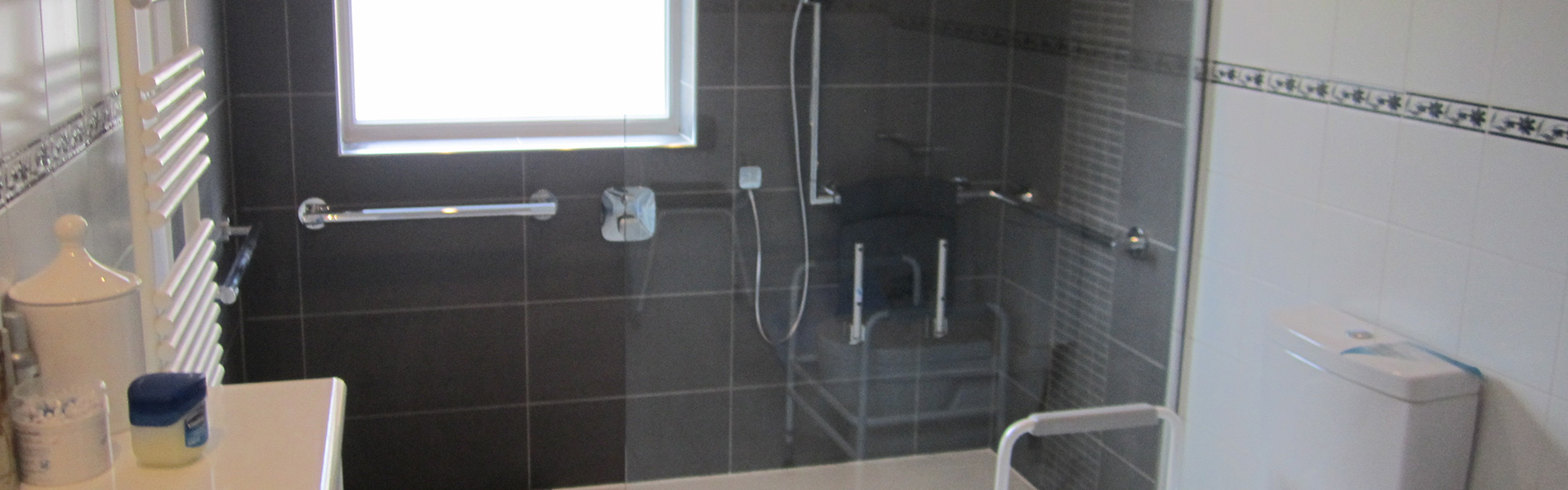 Easy Access – walk in shower installation